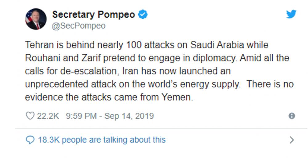 Trump igra z ogniem. Atak USA na Iran zniszczy Bliski Wschód fire 2