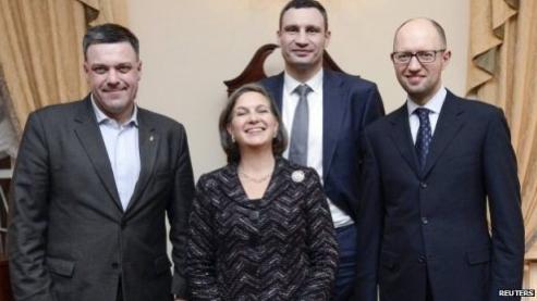 Nowe władze Ukrainy
