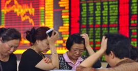 Panika na chińskiej giełdzie.