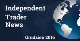 Najważniejsze wydarzenia minionych tygodni - grudzień 2016