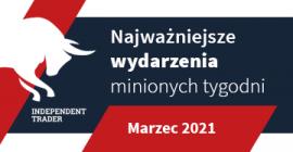 Najważniejsze wydarzenia minionych tygodni - Marzec 2021